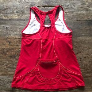 Athleta Tops - Athleta Red Workout Tank Size Medium